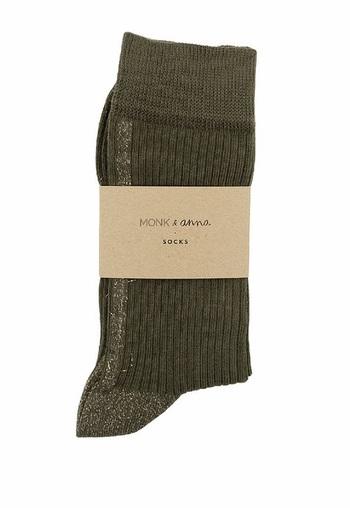 Sokken Glitter Line Olive  Kousen  Kousen/sokken