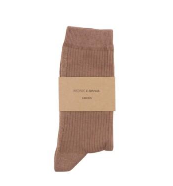 Sokken Glitter Line Pink Beige  Kousen  Kousen/sokken