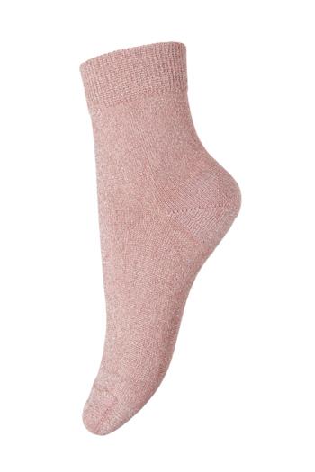 Korte sokken glitter LuLu Canyon Rose  Kousen  Kousen/sokken