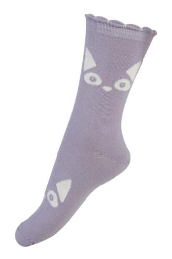 Sokken Glow in the dark Cat lila  Kousen  Kousen/sokken