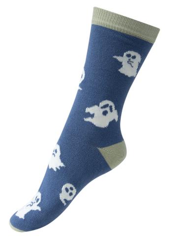 Sokken Glow in the dark Ghosts - blauw  Kousen  Kousen/sokken