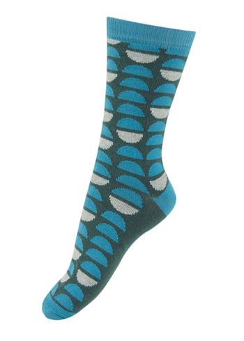 Sokken Halve maan groen/blauw  Kousen  Kousen/sokken