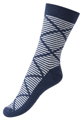 Sokken Harlekijn gemêleerd blauw  Kousen  Kousen/sokken