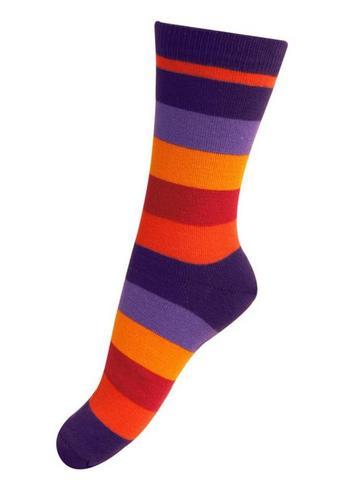 sokken/kousen gestreept herfst  Kousen  Kousen/sokken