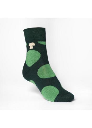 sokken/kousen groen met bollen 'forest'  Kousen  Kousen/sokken