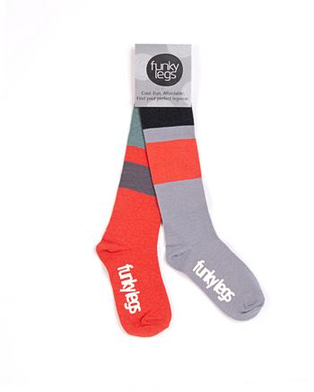 lange kousen kleurrijk gestreept  Kousen  Kousen/sokken