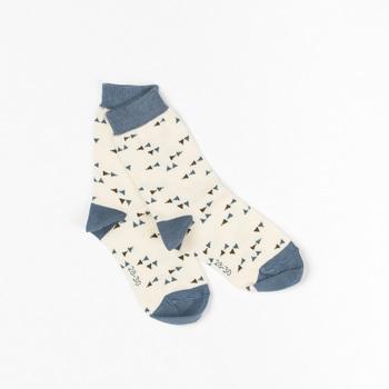 Sokken Kristian Antique white triangle  Kousen  Kousen/sokken