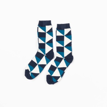 Sokken Kristian Seaport It ́s all about squares  Kousen  Kousen/sokken