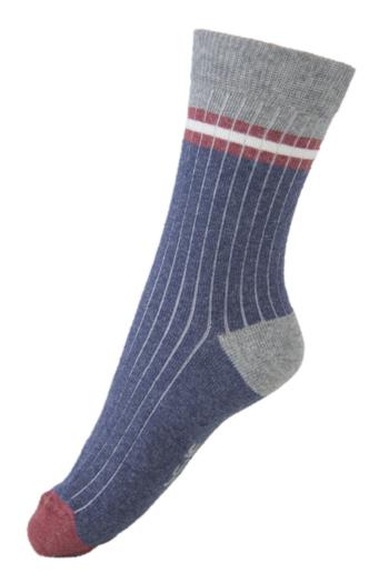 Sokken Rib Structure Navy  Kousen  Kousen/sokken