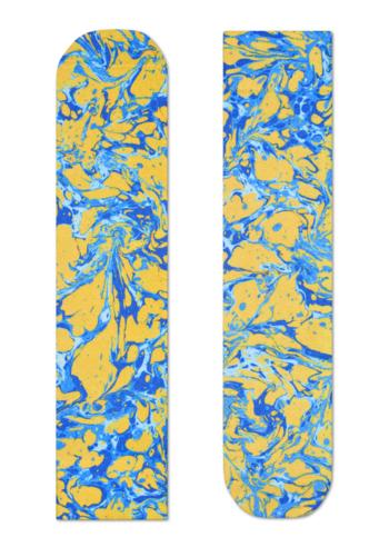 Sokken Special Special Marble Yellow/blue  Kousen  Kousen/sokken