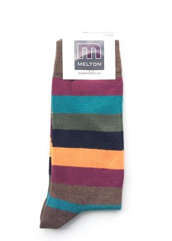 Sokken Stripe dark color  Kousen  Kousen/sokken
