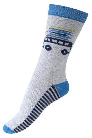 Sokken Surfer gemêleerd grijs/blauw  Kousen  Kousen/sokken