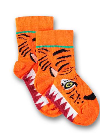 Sokken Tiger talkie walkie orange  Kousen  Kousen/sokken