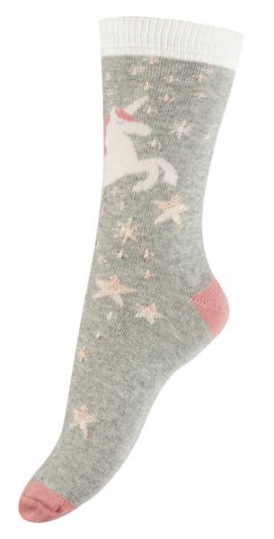 Sokken Unicorn with lurex  Kousen  Kousen/sokken