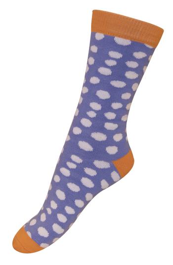 sokken vlokjes oranje  Kousen  Kousen/sokken