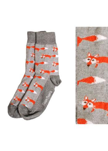 Sokken vos grijs  Kousen  Kousen/sokken