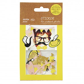 Stickertjes Flake Yellow  Karton  Kaartjes enzo