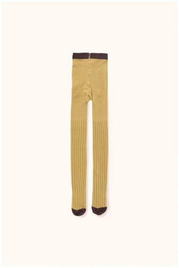 stripes tights mustard/sand  Kousen  Kousenbroeken - Panty's