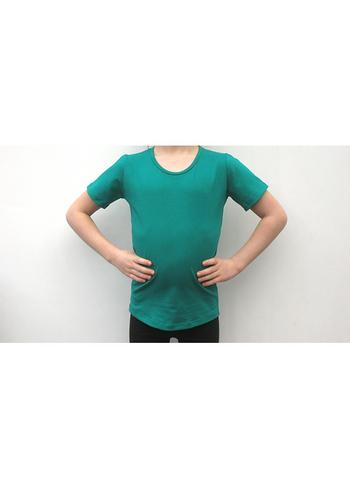 T-shirt biljartlakengroen  Kousen  Shirts