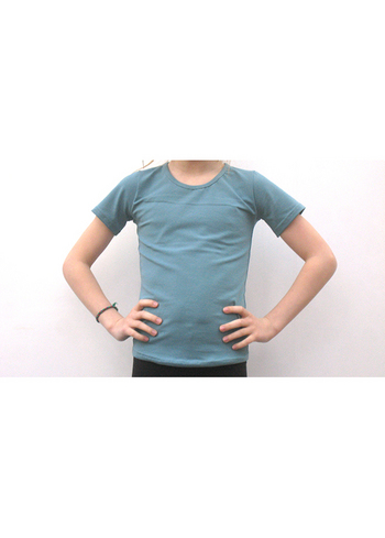 t-shirt donker blauwgrijs  Kousen  Shirts