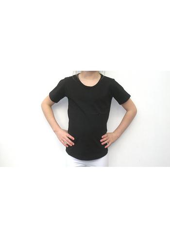 T-shirt zwart  Kousen  Shirts