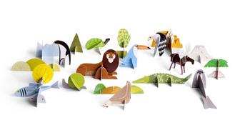 Totem Book Leeuw  Karton  Speelgoed / creatief