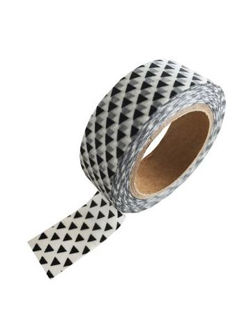washi/masking tape black triangle  Karton  Masking tape/Washi tape