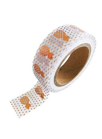 washi/masking tape copper foil pineapple  Karton  Masking tape/Washi tape
