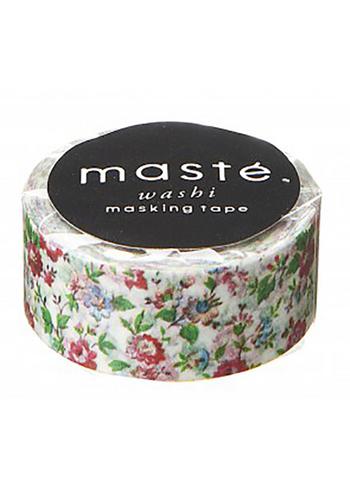 washi/masking tape Flower White  Karton  Masking tape/Washi tape