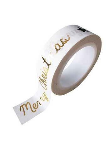 washi/masking tape gold foil Merry Christmas/happy new year  Karton  Masking tape/Washi tape