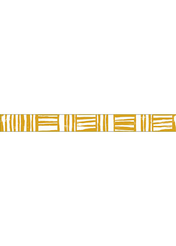 washi/masking tape Mustard Brush border  Karton  Masking tape/Washi tape
