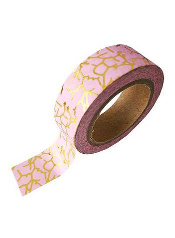 Washi/masking tape pink gold foil print  Karton  Masking tape/Washi tape