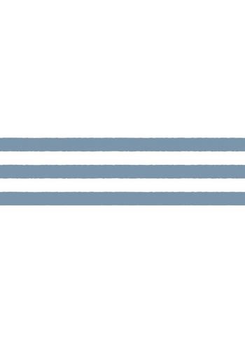Washi tape - Border blue  Karton  Masking tape/Washi tape