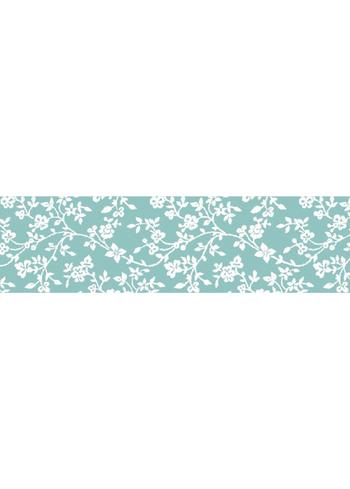 Washi tape - Fleur bleu  Karton  Masking tape/Washi tape