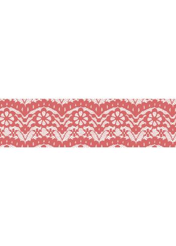 Washi tape - Lace Berry pink  Karton  Masking tape/Washi tape