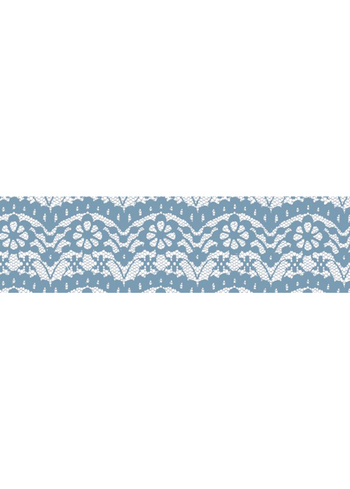 Washi tape - Lace blue  Karton  Masking tape/Washi tape