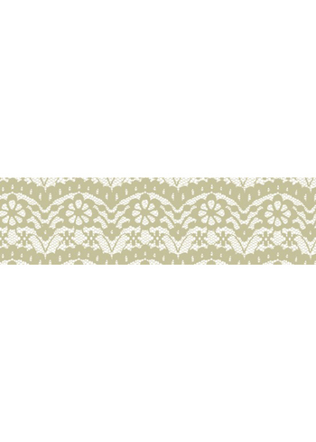Washi tape - Lace Off White  Karton  Masking tape/Washi tape