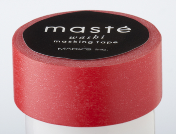 Washi tape Red  Karton  Masking tape/Washi tape