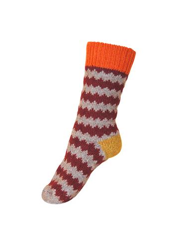 Wollen sokken bordeaux  Kousen  Kousen/sokken