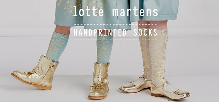 Handprinted limited edition Lotte Martens