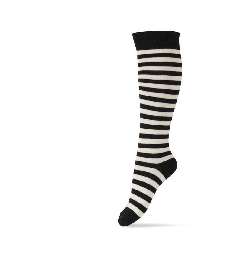 a5f51979762 Kniekousen zwart/wit gestreept online kopen � Kniekousen - Kousen ...