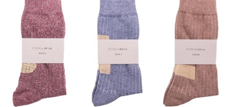 Monk & Anna - mooie dames sokken