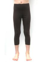 3/4e legging donker bruin  Kousen  Leggings