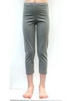 3/4e legging gemëleerd grijs  Kousen  Leggings