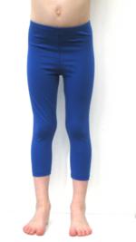 3/4e legging - Kobaltblauw  Kousen  Leggings