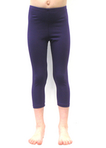 3/4e legging paars  Kousen  Leggings