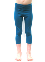 3/4e legging petrol  Kousen  Leggings