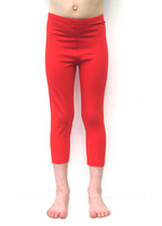 3/4e legging - Rood  Kousen  Leggings