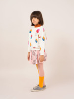 Bicolor Pink And Yellow Tights  Kousen  Kousenbroeken - Panty's