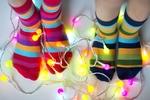 Blauw gemixt  Kousen  Kousen/sokken